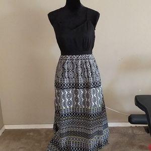 J crew Factory Ikat Maxi Dress